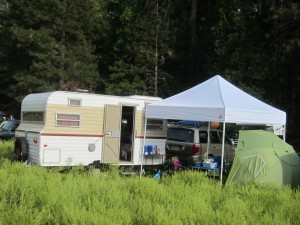Camping At Strawberry